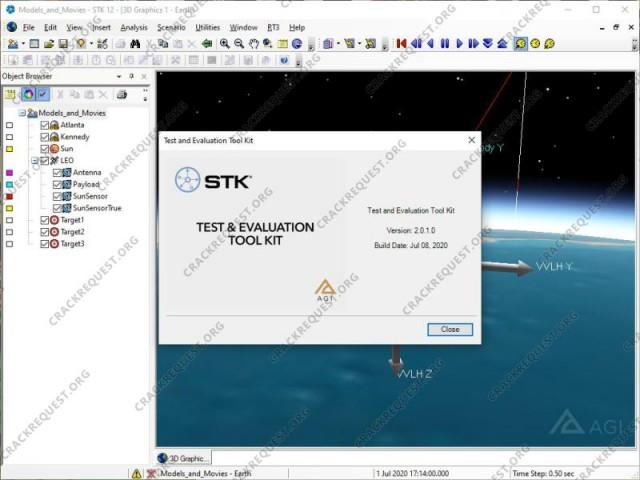 AGI STK Crack Free Download | AGI Systems Tool Kit 12.2