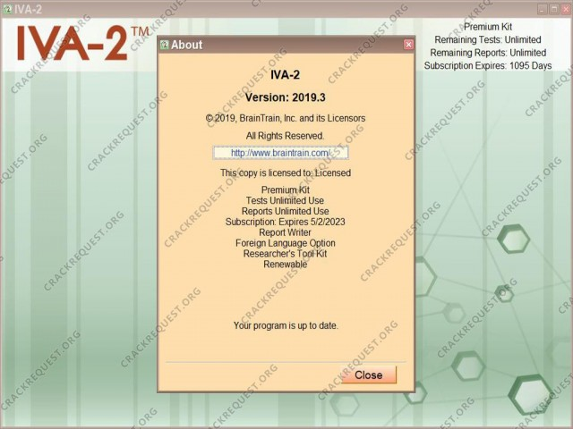 BrainTrain IVA-2 Crack 2020 Download
