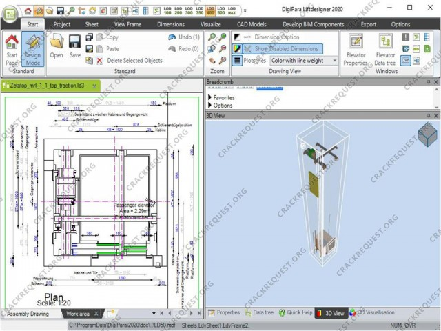 DigiPara Liftdesigner 2020 Crack For Full Version + Download License