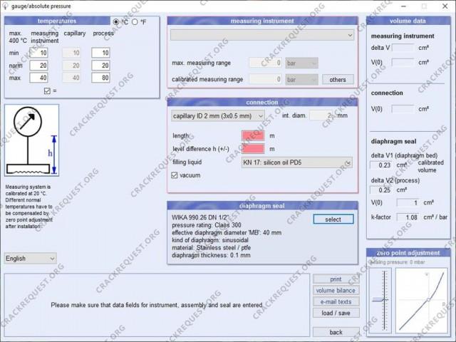 WIKA Diaphragm Seal Calculation Crack Download