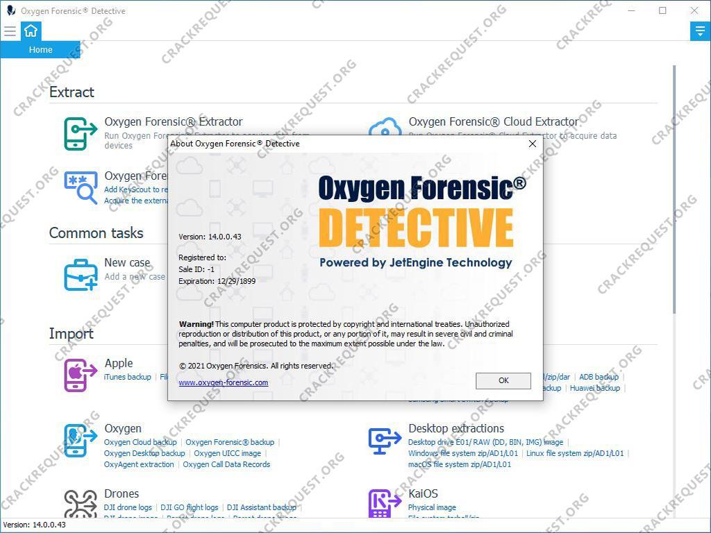 Oxygen Forensic Crack