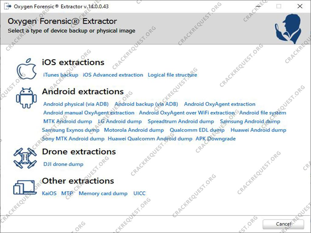 Oxygen Forensic Extractor